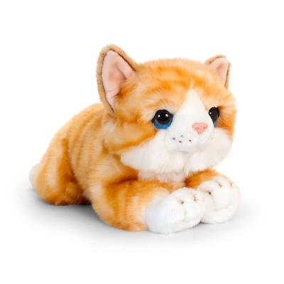 Cute Ginger Kitten Soft Toy 32cm
