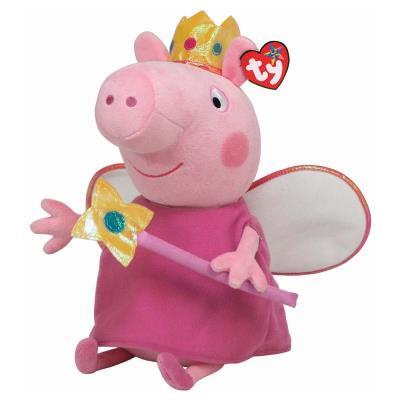 Ty Peppa Pig Princess Peppa Soft Toy 23cm