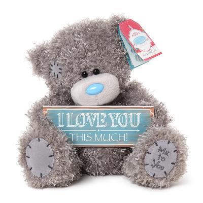 Tatty Teddy I Love You This Much Bear 18cm