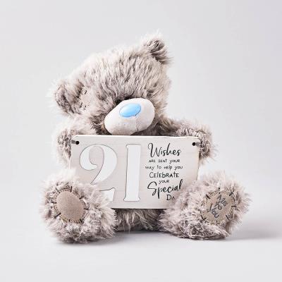 Tatty Teddy 21st Birthday Bear 21cm