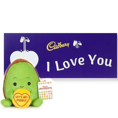 Avocado Toy & Cadbury Chocolate Gift Set