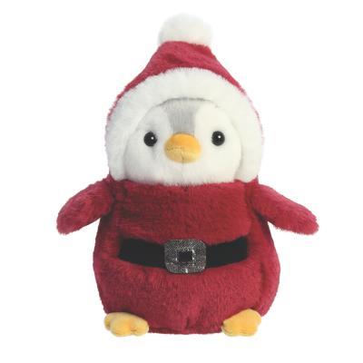 Santa Penguin Soft Toy