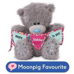 Tatty Holding Happy Birthday To You Bunting