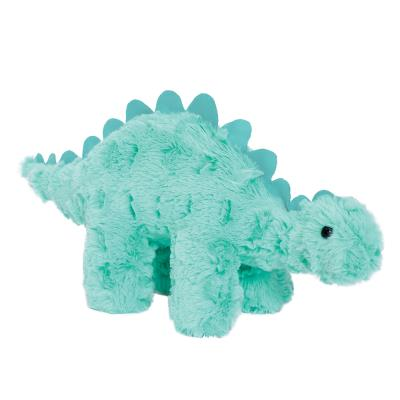 Manhattan Toy Bright Turquoise Dinosaur Soft Baby Toy