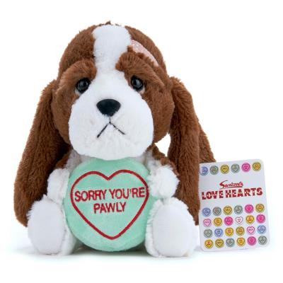 Swizzels Love Hearts Sorry You're Pawly Soft Toy 18cm