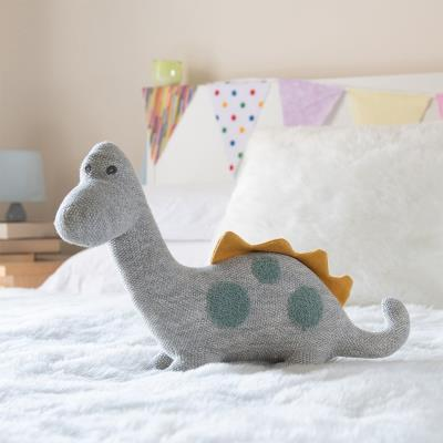 Large Organic Cotton-knit Dinosaur Toy 27cm