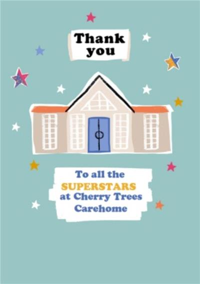 Thank You To All The Superstars Care Home NHS Staff Card