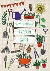 Gardening Tools Personalised Fathers Day Card