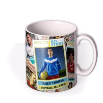 Shoot Magazine All Star Sticker Photo Upload Mug