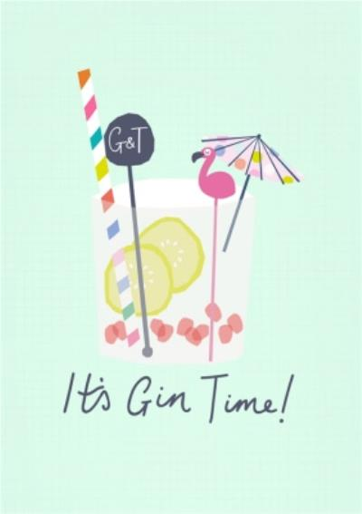 Its Gin Time Card