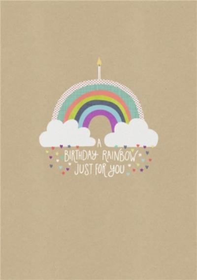 Shake It Up Birthday Rainbow Card