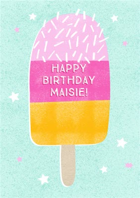Female birthday cards moonpig personalised ice lolly birthday card m4hsunfo