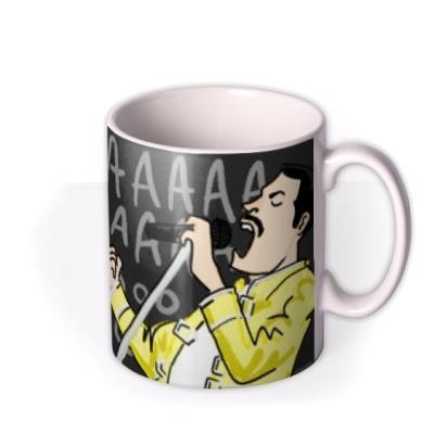 Dadaaaaaaaoooo Queen Freddie Mercury Father's Day Mug