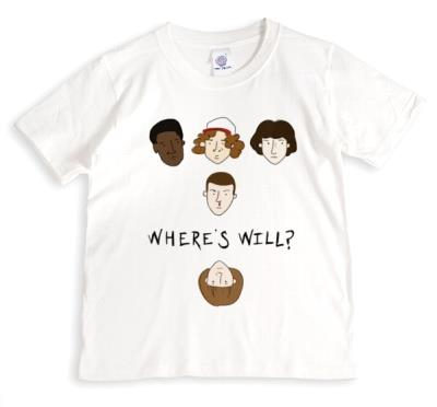 Stanger Things T-shirt Where's Will?