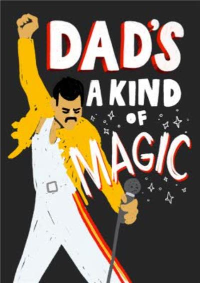 Dad's A Kind Of MAGIC Father's Day Card