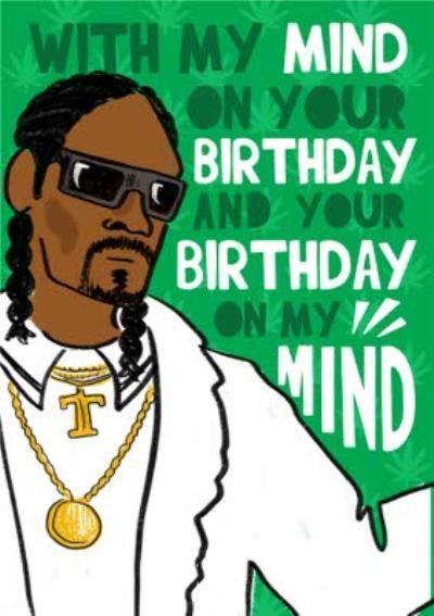 Snoop Dogg Birthday Card