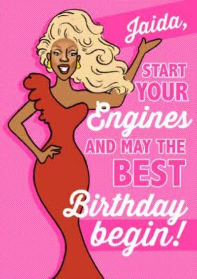 Funny Drag Queen Birthday Card