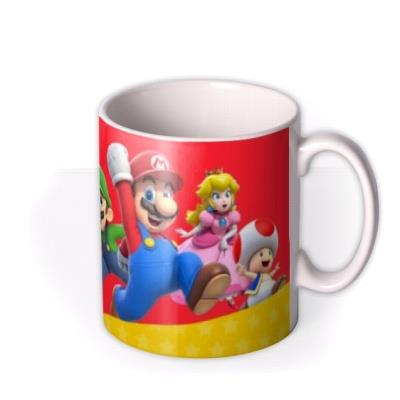Nintendo Super Mario Photo Upload Mug