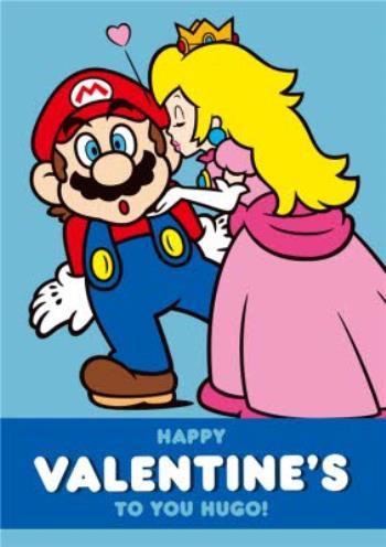 Mario And Peach Kiss