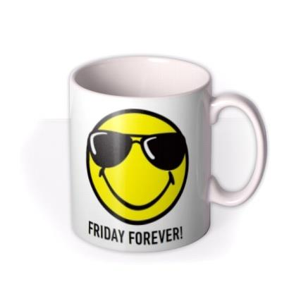 Smiley World Friday Forever Photo Upload Mug