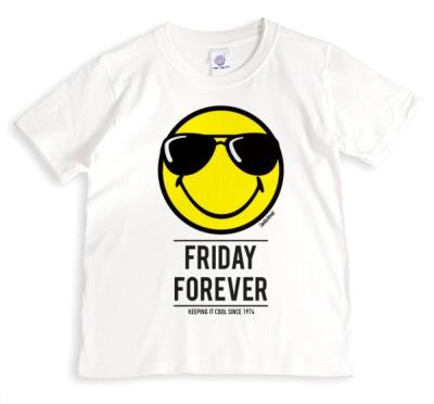 Smiley World Friday Forever Personalised T-Shirt