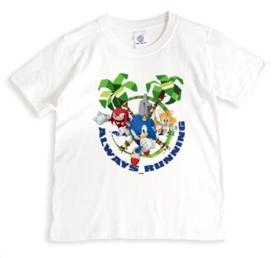Sega Sonic Tails and Knuckles Always Running Tshirt
