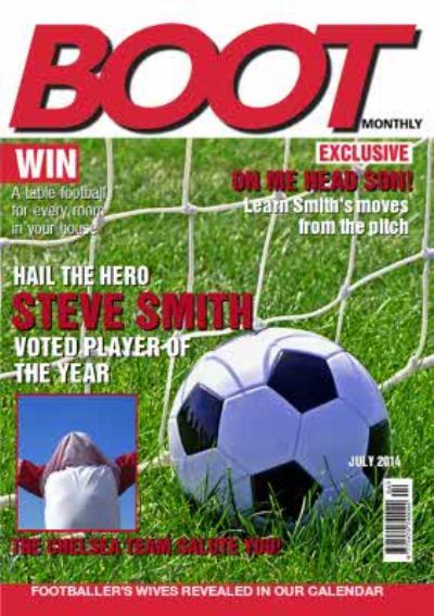 Football Magazine Birthday Card