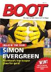 Boot Magazine Football Fan Personalised Photo Card