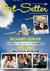 Jet-Setter Spoof Travel Magazine Personalised Photo Upload Card