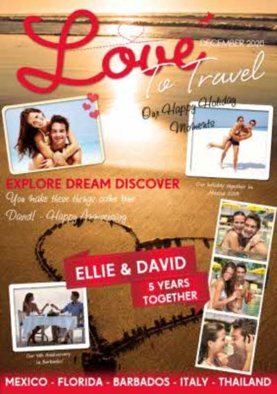 Love to travel Spoof Travel Card