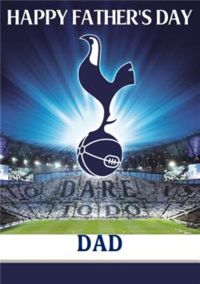 Tottenham Hotspur FC Football Player Father's Day Card For Dad