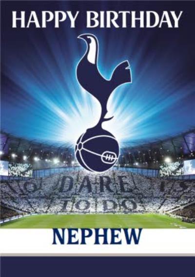 Tottenham Hotspur FC Football Niece Birthday Card