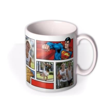 Superman Comic Book Photo Upload Mug