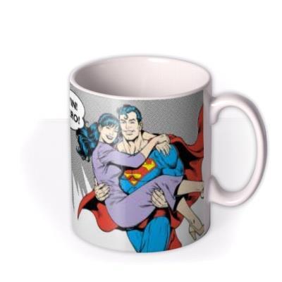 Superman Husband Another Planet Personalised Mug