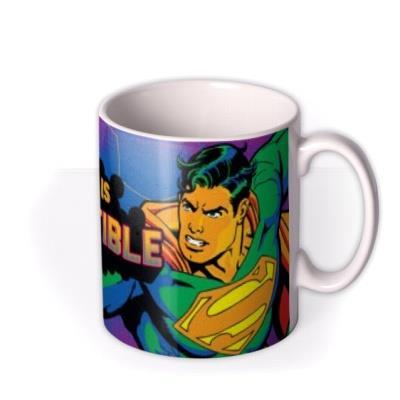 Superman Neon Indestructible Personalised Mug