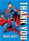 Superman Flying Personalised Thank You Card