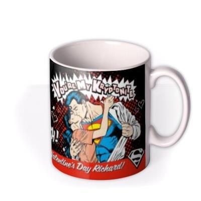 Valentine's Day Superman You're My Kryptonite Mug