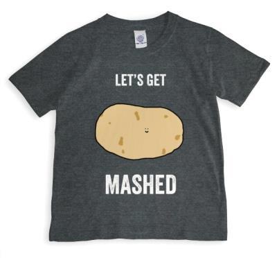 Birthday Get Mashed Personalised T-shirt