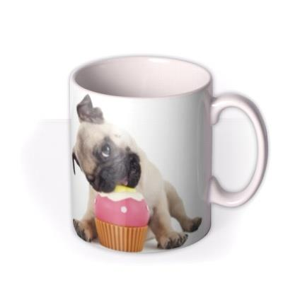 Personalised Loves Cake And Cute Dogs Mug