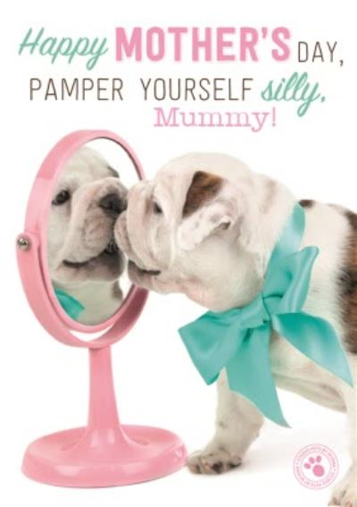 Pamper Yourself Mummy Happy Mothers Day Card
