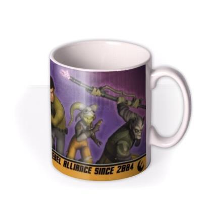 Star Wars Rebel Alliance Cartoon Personalised Mug