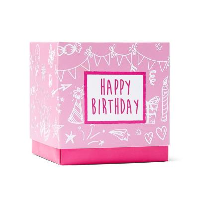 Happy Birthday Sweet Box Pink