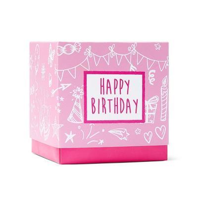 Happy Birthday Sweet Box Pink