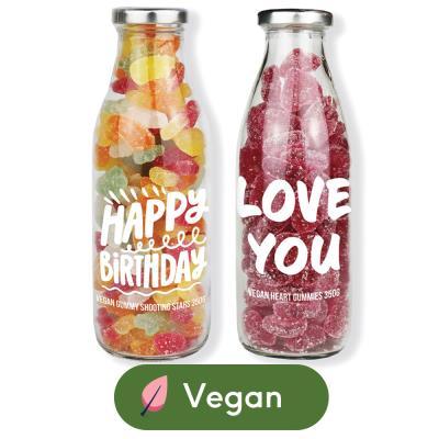Duo Message Bottle - Happy Birthday (800g)