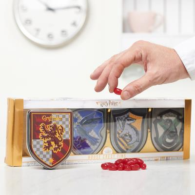 Harry Potter Crest Tin Pack of 4