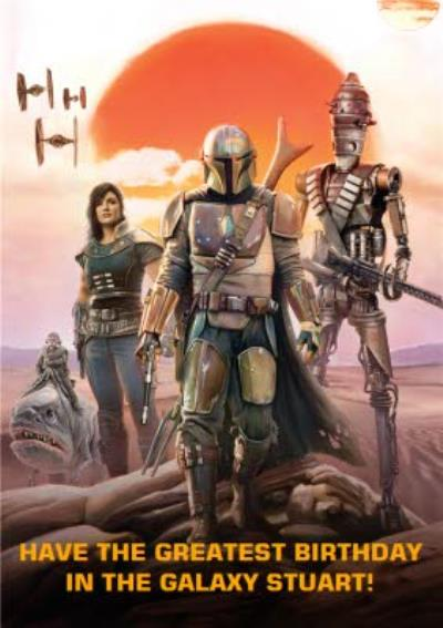 Star Wars The Mandalorian Greatest Birthday Card