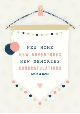new home card congratulations