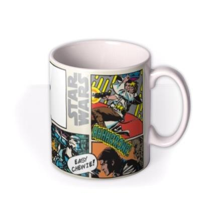 Star Wars Vintage Luke Skywalker Photo Upload Mug