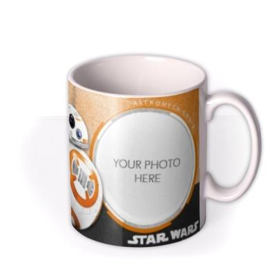 Star Wars BB-8 Photo Upload Mug