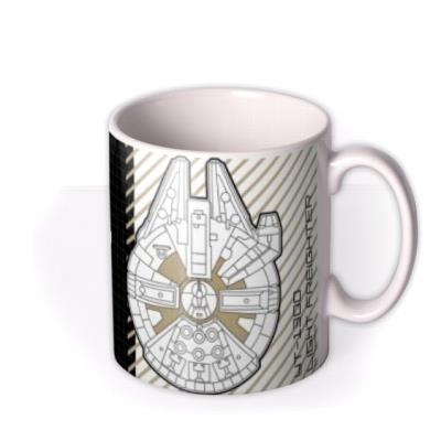 Star Wars Millennium Falcon Photo Upload Mug